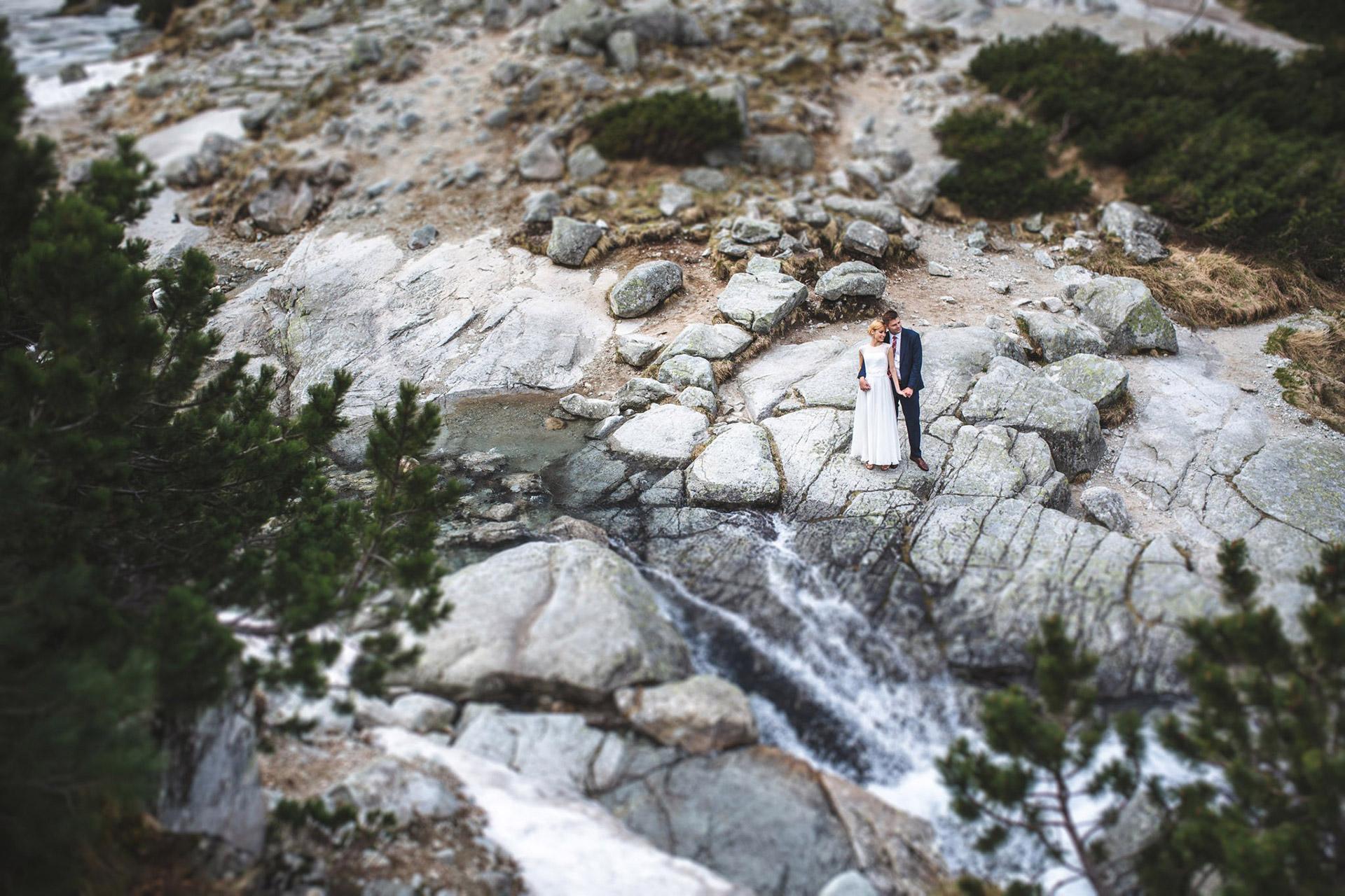 Sesja slubna w gorach